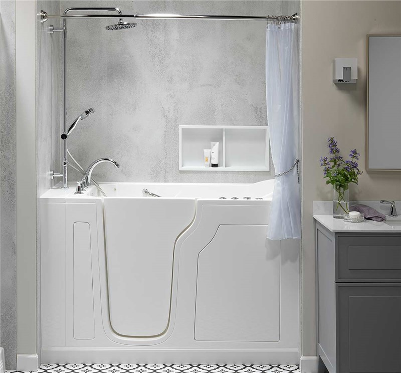 Adding Shower Functionality to Your Walk-In Bathtub