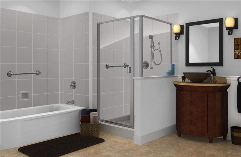 Designing an Industrial Style Bathing Area