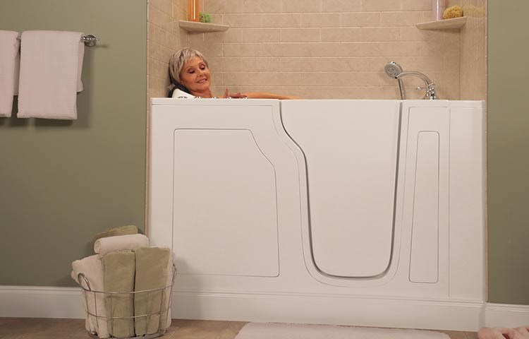 Bathing Independence Regained with Walk-in Tubs
