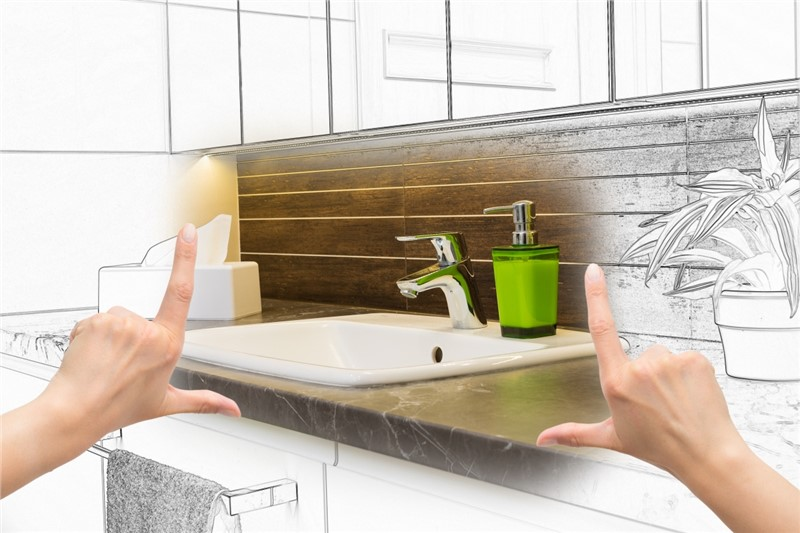 Bath Planet's Beautiful Bathrooms on a Budget