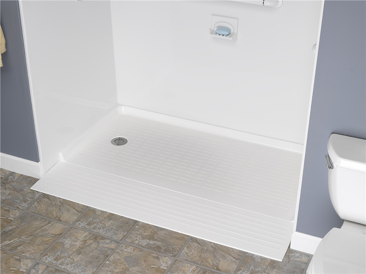 Handicapped bathroom accessories - Barrier Free Shower