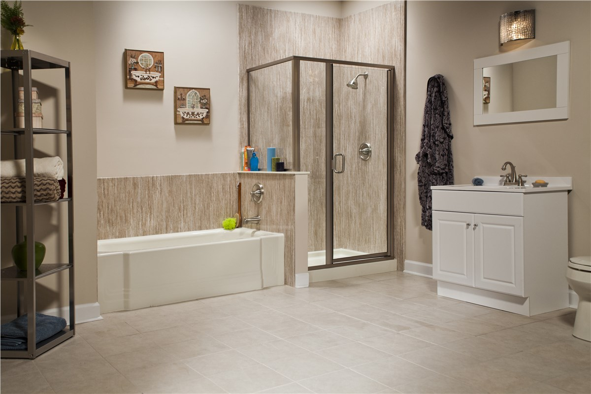 One Day Remodel One Day Affordable Bathroom Remodel Bath Planet - Bathroom remodel schedule