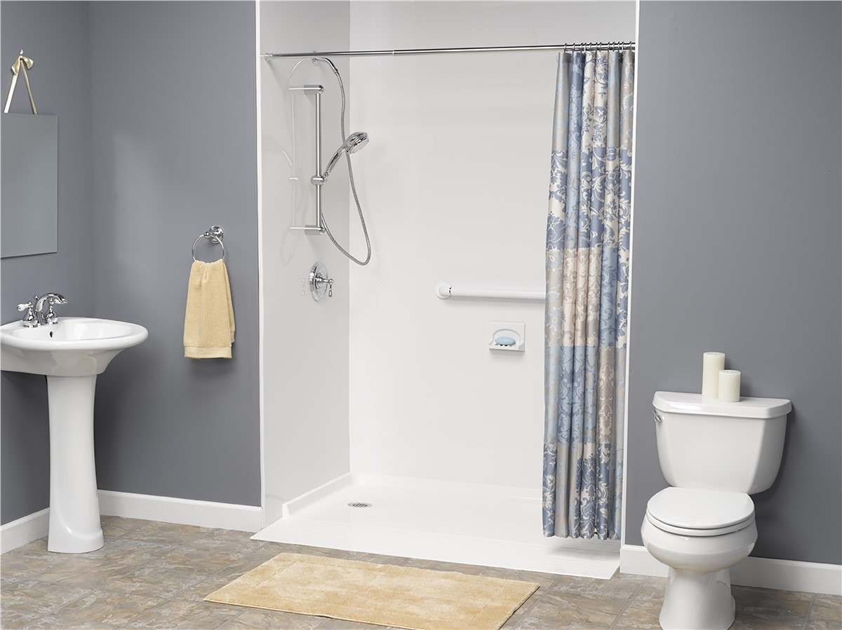Barrier Free Showers Wheelchair Accessible Showers Handicap - Bathroom remodel for wheelchair access
