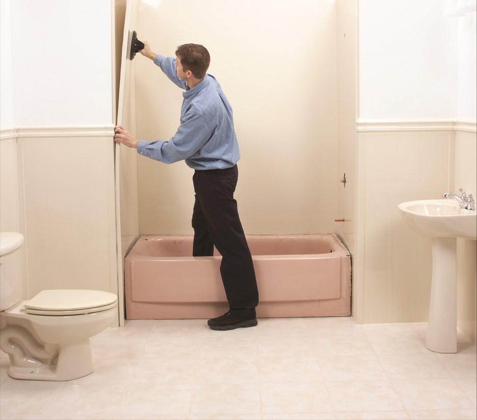 Bathroom Remodel Order Of Operations : Bath planet process shower remodel