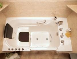 Bath Planet Walk-in Tub with Dual Drains