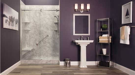 Free Semi-Frameless Shower Door OR No Payments, No Interest for 18 Months*