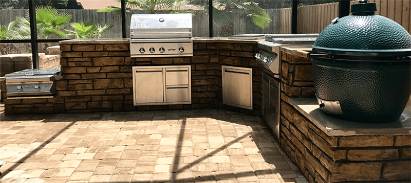 OUTDOOR KITCHENS: EAT BETTER, LIVE BETTER
