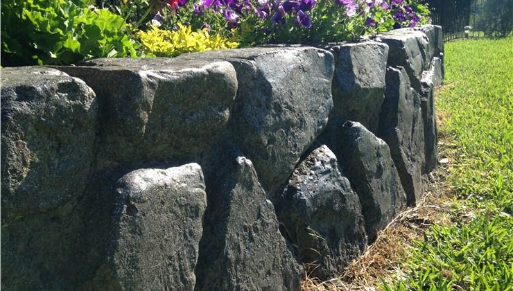 Retaining Walls - Garden Retaining Wall Photo 1