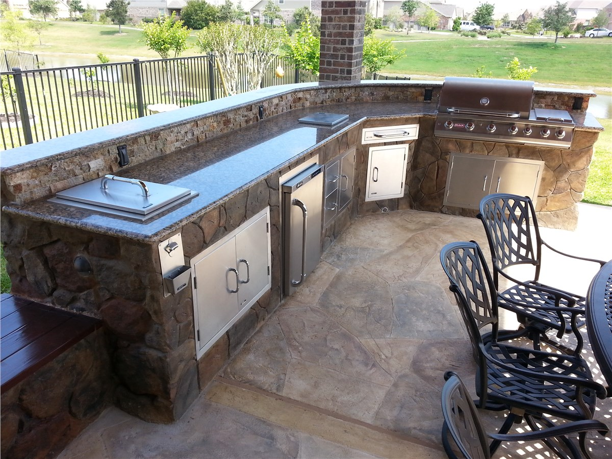 Outdoor Kitchens Backyard Kitchen Clifrock