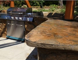 Outdoor Kitchens - Outdoor Kitchen Countertops Photo 2