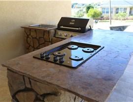 Outdoor Kitchens - Outdoor Kitchen Countertops Photo 4