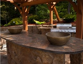 Outdoor Living Spaces - Service Areas and Bars Photo 3