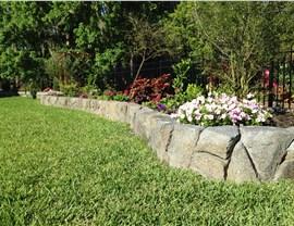 Retaining Walls - Garden Retaining Wall Photo 4