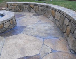 Stamped Concrete - Concrete Walkway Photo 2