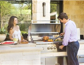 Outdoor Kitchens - Built in BBQ Photo 2