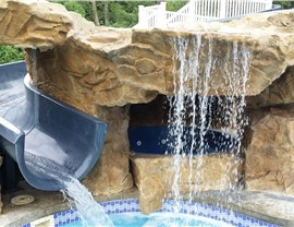 Water Features - Pool Slides Photo 3