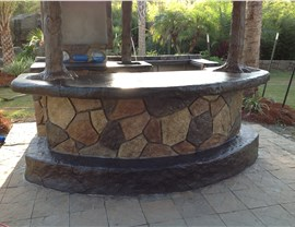 Outdoor Living Spaces - Service Areas and Bars Photo 2