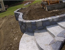 Stamped Concrete - Concrete Steps Photo 2