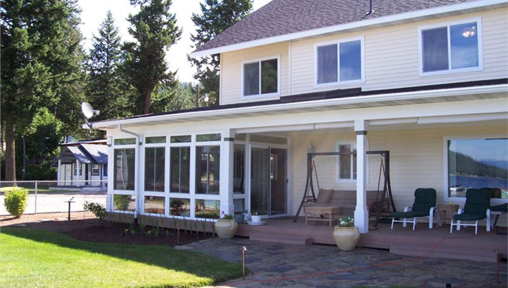 Integrated Sunroom