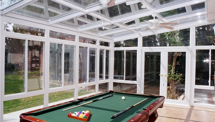 Beam Glass Roof System