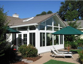 Gabled Sunroom
