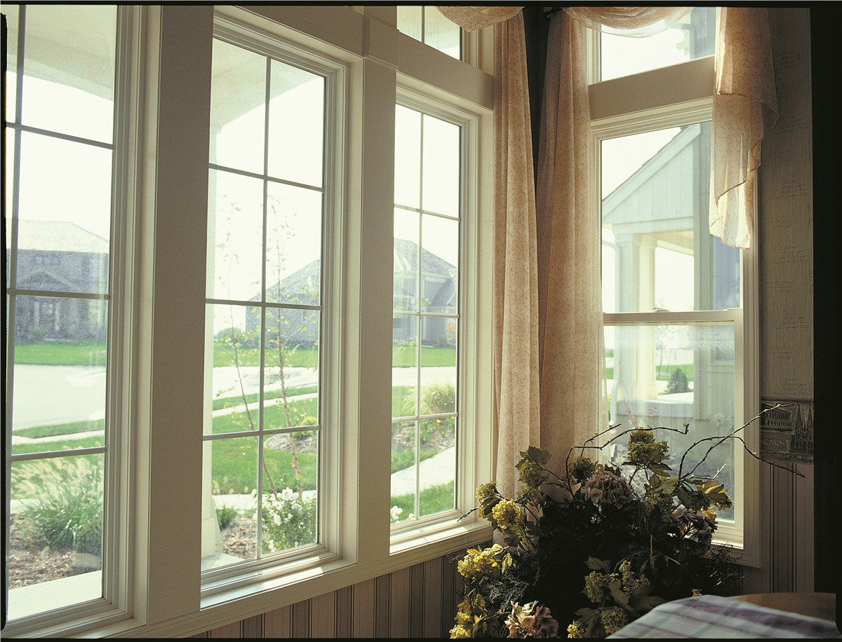 Bay Windows | Bay Window Replacement | EcoView Windows on crack a window, install trim around small window, fillers around window, framing around a window, framing 2x4 window, clean a window,
