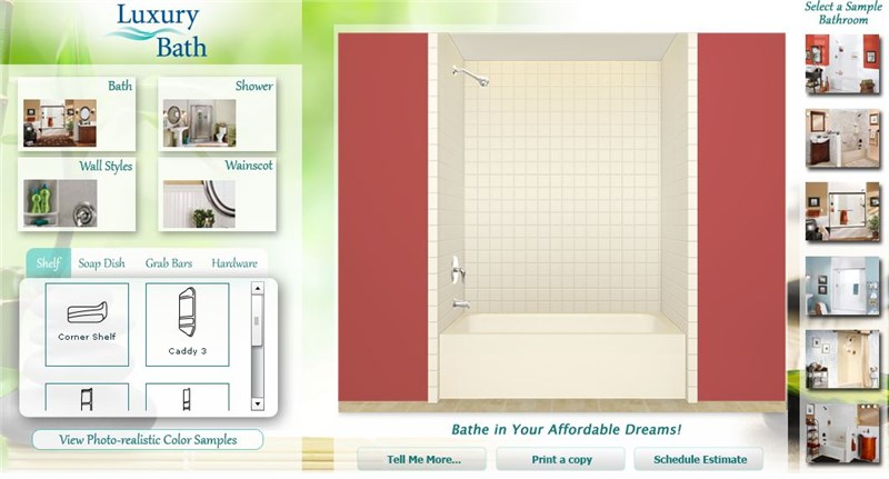Design Your Own Bathroom!