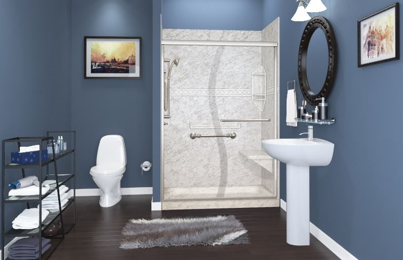 Making Your Bathing Area Complement Your Bathroom's Cool Color Scheme