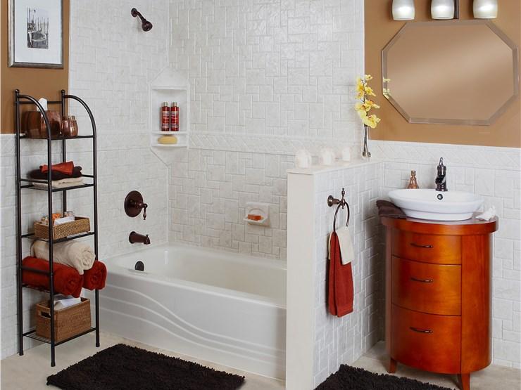 Portland bath remodel oregon bath remodel luxury bath for Bathroom remodel portland