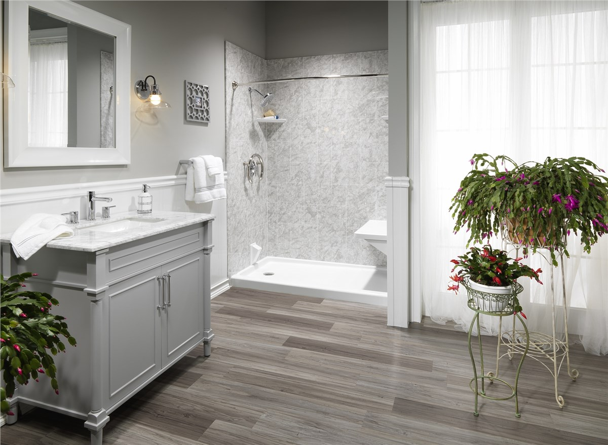 Bathtub surrounds tub surrounds bath tub walls luxury bath - Pictures of small bathrooms ...