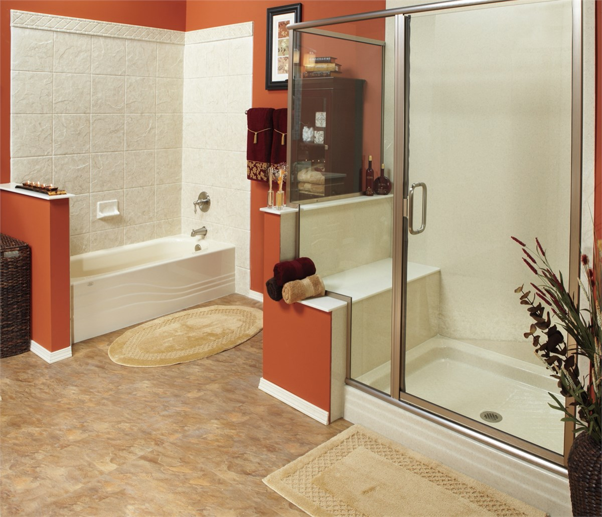 One Day Bathroom Remodeling Style Small Bath Remodel  Guest Bathroom Remodeling  Luxury Bath