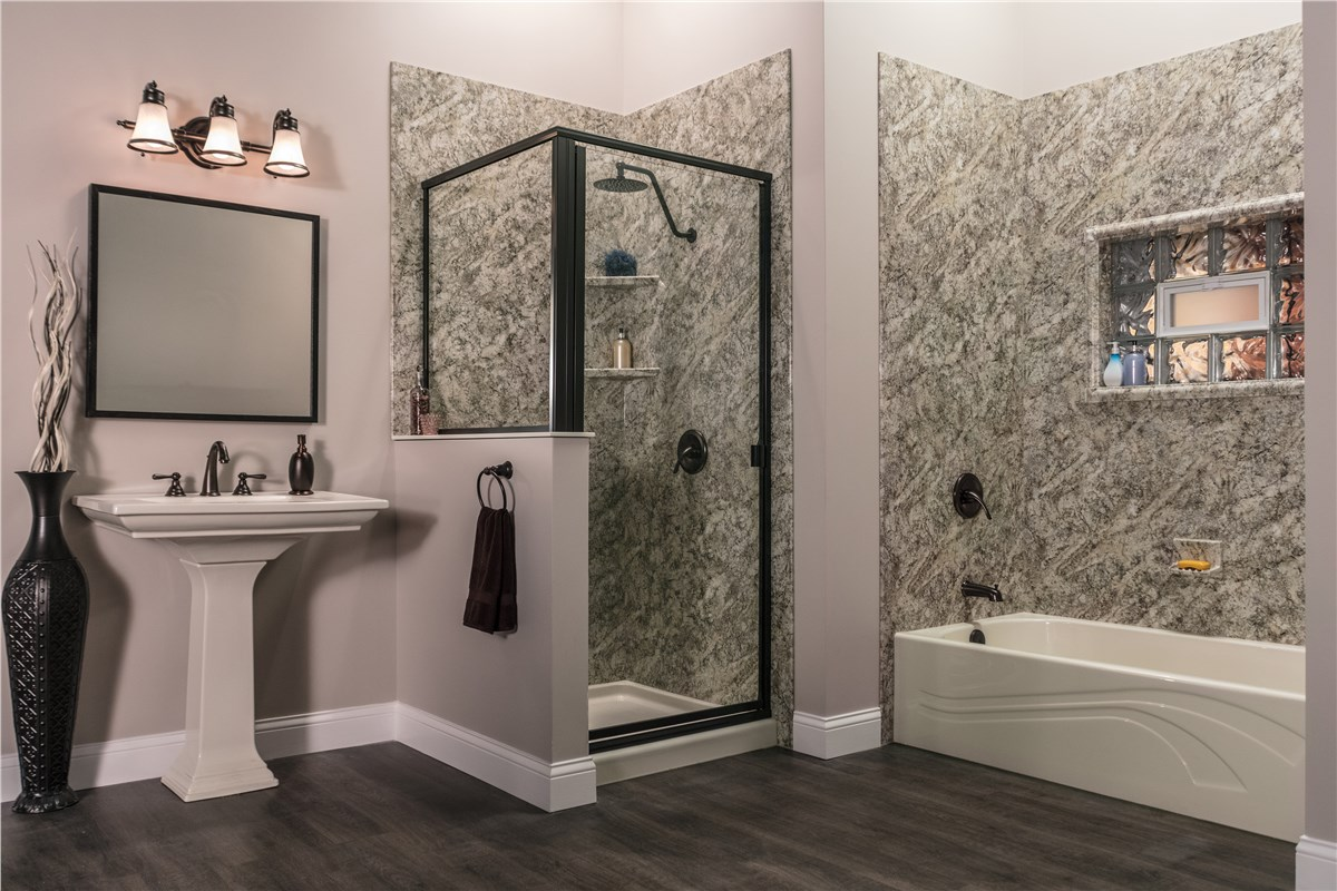 Bath liners tub liners bathtub liner company luxury bath - Home depot bathroom tile installation cost ...