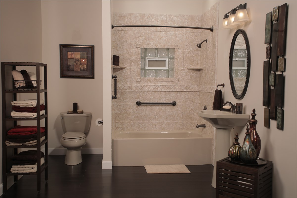 Bathroom Remodeler Gallery Photos Bathroom Remodel Luxury Bath - Bathroom remodeling contractors kansas city