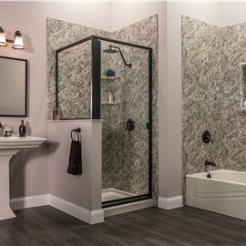 Bathroom Remodeler Gallery Photos Bathroom Remodel Luxury Bath - How to completely remodel a bathroom