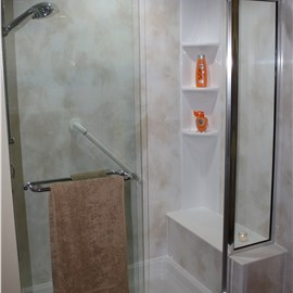 Shower Seat & Towel Bars Photo 2