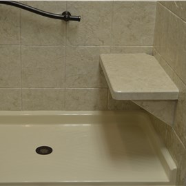 Shower Seat & Towel Bars Photo 6