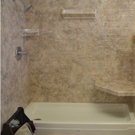 Shower Seat & Towel Bars Photo 5
