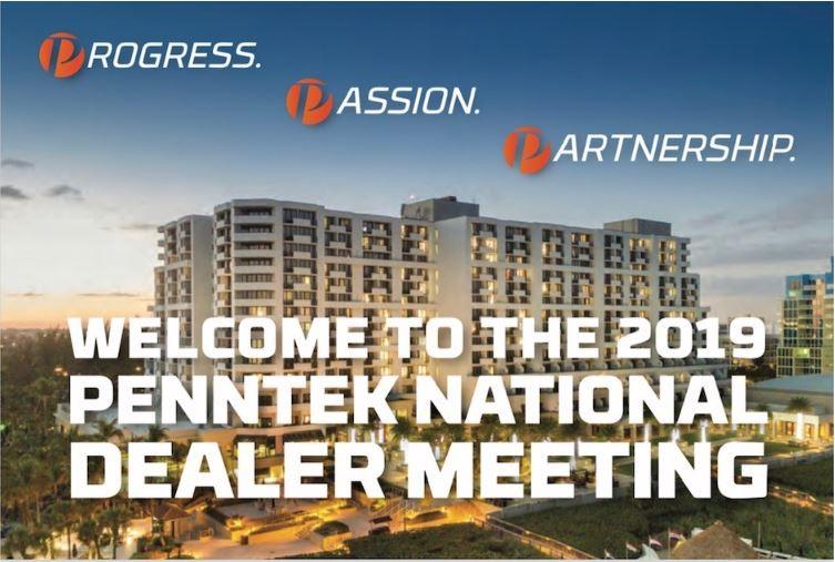 Make Plans to Attend the 2019 Penntek National Dealer Meeting