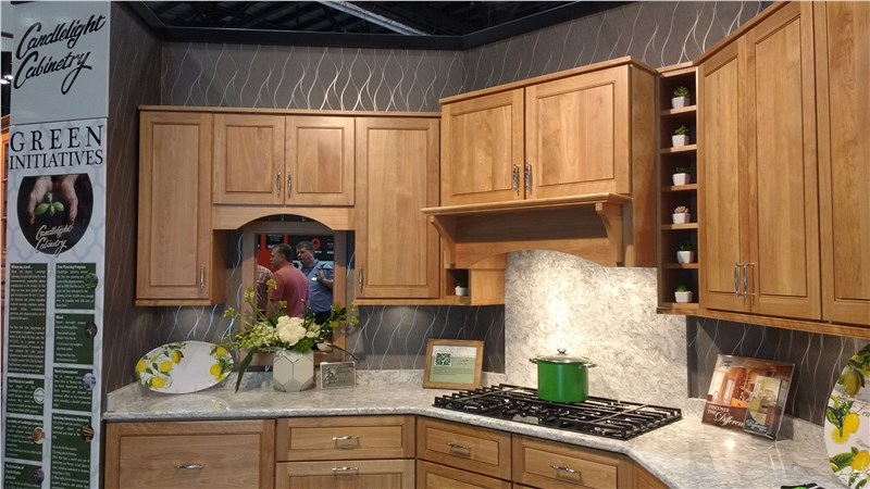 Candlelight Cabinets Nailed The Clic Home Show Look Just Way You Want To For Your Own Shows They Replicated Kitchen In