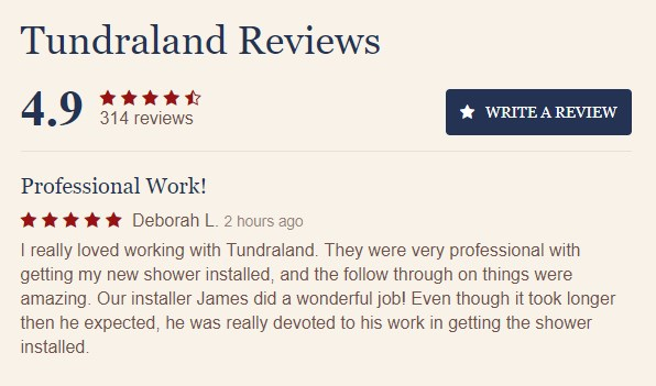 Generating reviews is important, and we helped Tundraland do it!