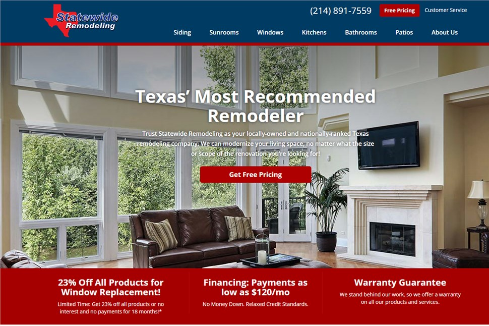 Statewide Remodeling Home Page