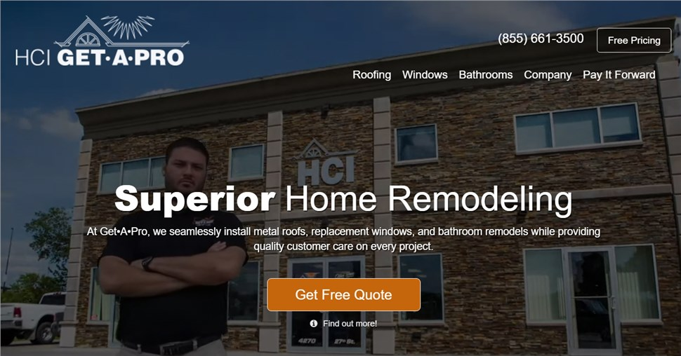 Spectrum Builds Great Websites for Roofers!