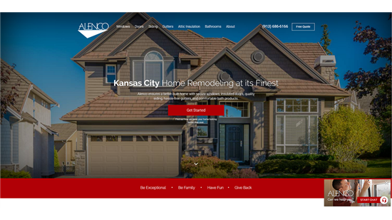 Alenco Home Page
