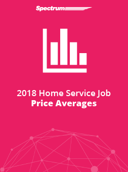 2018 Home Service Job Price Averages