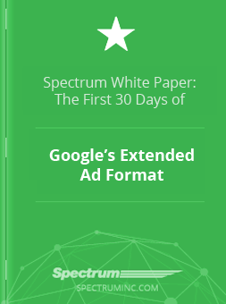 First Month of Google's Extended Ads