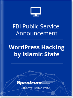 FBI PSA on WordPress Hacking by ISIS