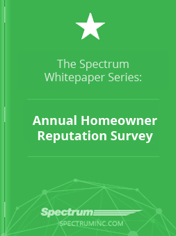 Spectrum's Annual Homeowner Reputation Survey
